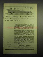 1918 Winton Six Car Ad - Like Taking a New Home
