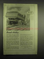 1918 GMC Truck Ad - Road-Ability