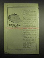 1918 Ivory Soap Ad - 99% Pure It Floats