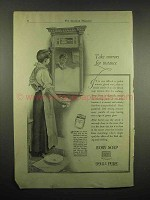 1917 Ivory Soap Ad - Take Mirrors For Instance