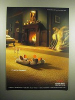 2003 Mohawk Carpet Ad - It's not the Champagne