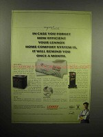 2003 Lennox Home Comfort System Ad - How Efficient