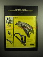 2000 Stanley Utility Knife, Tools Ad - Forged, Molded