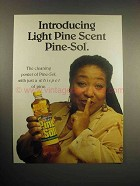 1999 Light Pine Scent Pine-Sol Cleaner Ad