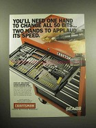 1999 Craftsman Speed-Lok Drill-Driver System Ad