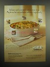 1997 Corningware Cookware Ad - Campbell's Pot Pie