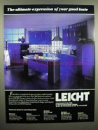 1992 Leicht Kitchen Ad - Ultimate Expression of Taste