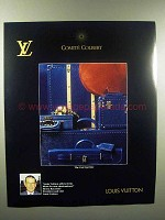 1989 Louis Vuitton Cuir Epi Luggage Line Ad