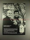 1973 Jim Beam Ad w/ Fredric March and Mike Connors!!