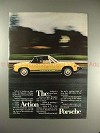 1973 Porsche 914 Car Ad - The Action Porsche!!
