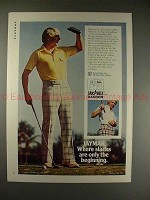 1975 Jaymar Slacks Ad w/ Tom Shaw - Only the Beginning!