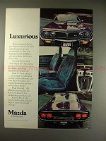 1975 Mazda RX-4 RX4 Car Ad - Luxurious, NICE!