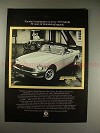 1975 MG MGB Car Ad - 50 Years of Thundering Legends!!