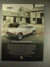 1975 MG Midget Car Ad - The Affordable Legend, NICE!!