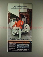 1975 Craig PowerPlay Car Stereo Ad w/ Billy Preston!!