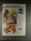 1976 Dingo Boots Ad w/ Derek Sanderson - Cut The Ice!!