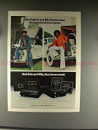 1976 Craig Stereo Ad w/ Arlo Guthrie & Billy Preston!!