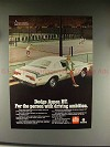 1976 Dodge Aspen R/T Car Ad - For Driving Ambition!