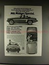 1976 MG Midget Special Car Ad - Why Drive a Little Box!