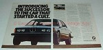 1976 2-page BMW 320i Ad - The Car That Started a Cult!