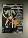 1977 Honda GL 1000 Gold Wing Motorcycle Ad - in German!