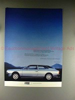 1977 Lancia Beta HPE Car Ad - in German - NICE!!