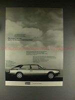 1977 Lancia Beta HPE Car German Ad - Individualisten!!