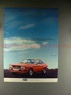 1977 Lancia Beta Coupe Car Ad - in German - NICE!!