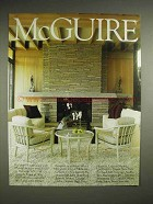 1988 McGuire Furniture Advertisement