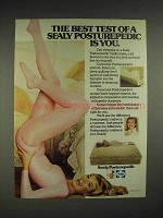 1983 Sealy Posturepedic Mattress Ad - The Best Test