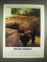 1980 Roche Bobois Furniture Ad - Probably Most Exciting