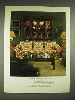 1980 Henredon Furniture Ad - Value Excellence