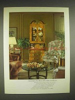 1980 Henredon Furniture Ad - For Those Who Value Excellence