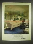 1980 Henredon Scene One furniture collection Ad
