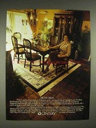 1980 Century Cipriani Collection Furniture Ad - Silva