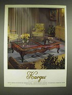 1980 Karges Living Room Furniture Ad