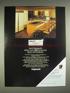 1980 Poggenpohl Kitchen Cabinets Ad - Every Kitchen Signed Numbered