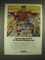 1979 X-Acto Tools Ad - For the Best Christmas Yet
