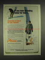 1978 Ariens Sno-Thro Ad - If You Hate Shoveling