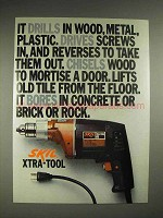 1976 Skil Xtra-Tool 599 Ad, Drills Drives Chisels Bores
