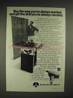 1975 Rockwell International Homecraft Table Saw Ad