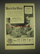 1957 South Bend Lathe Ad - More for Your Money