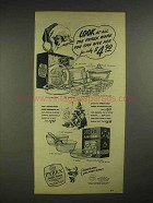 1946 Pyrex Oven Ware Ad - Gift Set, Flameware Set
