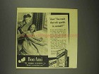 1945 Bon Ami Cleanser Ad - You Made That Tub Sparkle