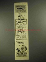 1941 Kleenex Tissues Advertisement - Tell Me Another