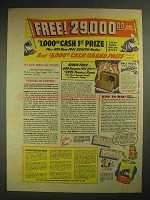 1940 Old Dutch Cleanser Ad - Cash & Prizes