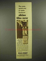 1937 Johnson's Glo-Coat Ad - Shine Like New