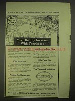1913 Tanglefoot Fly Paper Ad - Meet the Fly Invasion