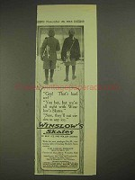 1913 Winslow Skates Ad - Gee! That's Hard Ice!