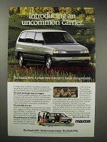 1988 Mazda MPV Ad - An Uncommon Carrier